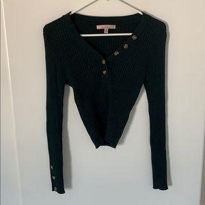 NWOT Fashion Nova Crop Sweater